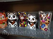 """Цукерки глазуровані JOYCO """"Драже горіхово-шоколадний Білочка"""" купити. Панда з горіховим смаком"""