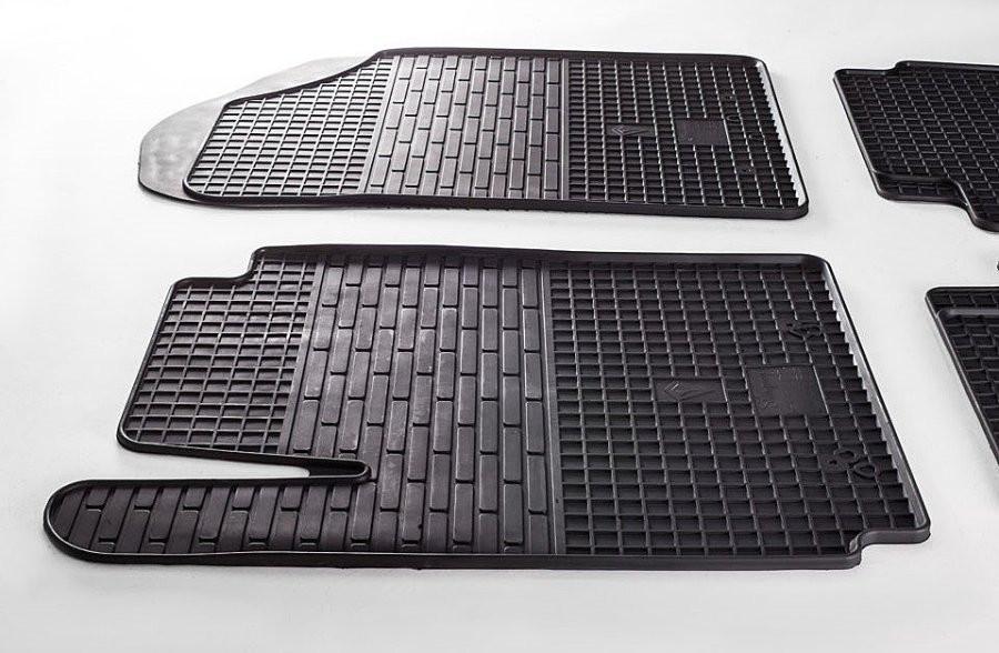 Резиновые коврики Kia Picanto 11-/Hyundai I10 08- (передние - 2 шт) 1010022 Stingray