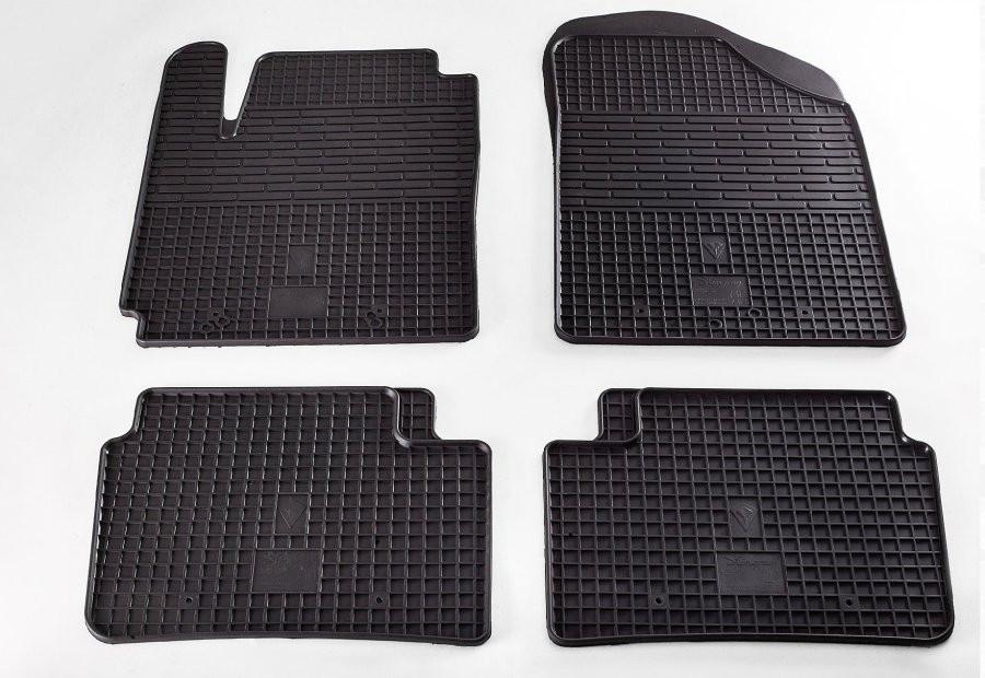 Коврики в салон для Kia Picanto 11-/Hyundai I10 08- (комплект - 4 шт) 1010024