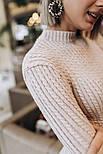 Женское вязаное платье косичка (3 цвета), фото 2
