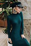 Женское вязаное платье косичка (3 цвета), фото 6