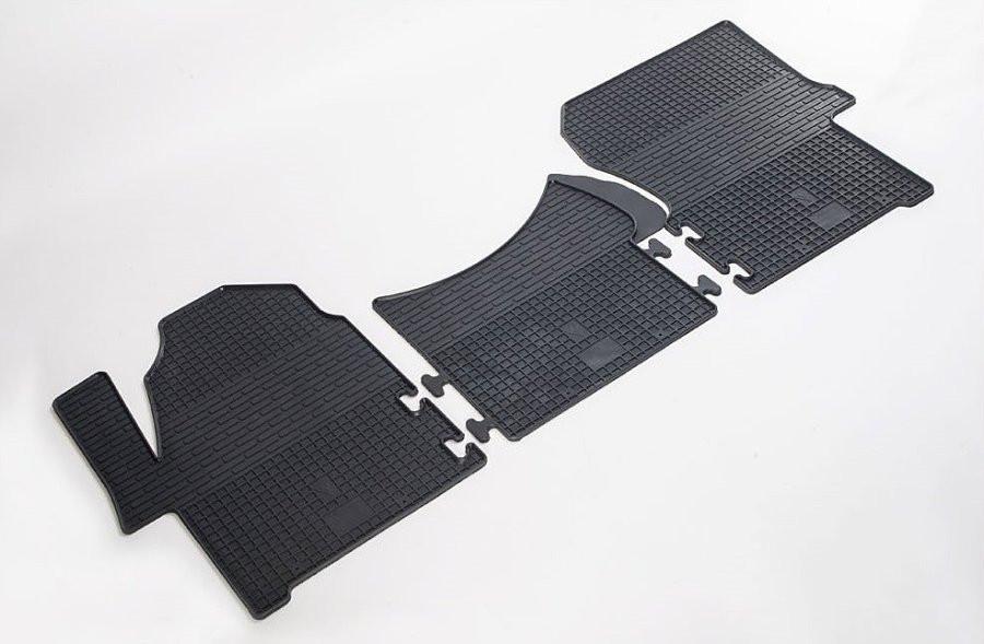 Коврики в салон для Mercedes Sprinter 06-/ Volkswagen Crafter 06- (комплект - 3 шт) 1012033