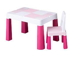 Комплект дитячих меблів Tega Baby Multifun (стіл + 2 стільці) Pink