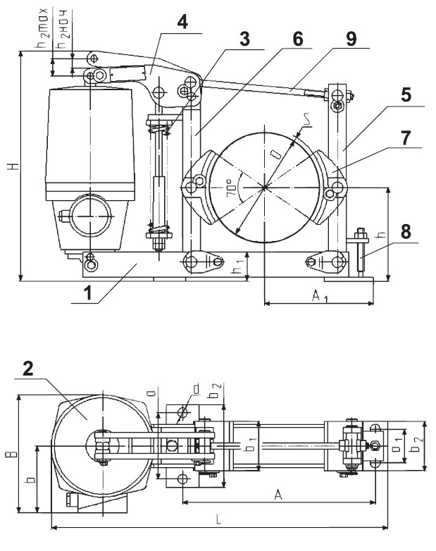 Тормоз ТКГ-200