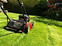 Стрижка и уход за газоном: аерация, скарификация, удобрение и покос травы