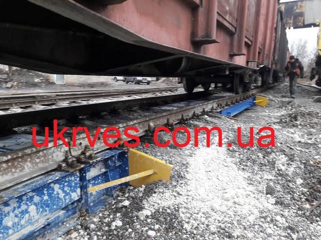 На вагонных весах осуществляется дозировка и планировка вагонов согласно требований железной дороги по равномерности распределения груза в вагоне и максимальному допустимому значению брутто.