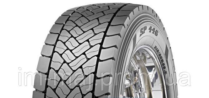 Грузовые шины на ведущую ось 295/80 R22,5 Dunlop SP446