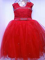 Бальное платье 7-9л