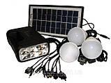 Мобільний акумулятор GDLite GD-8017 - сонячна зарядка, фото 2