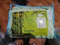 Одеяло двуспальное Евро Бамбук Лелека, наполнитель бамбуковое волокно, плотность 390 г/м2, фото 1
