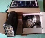 Мобільний акумулятор GDLite GD-8017 - сонячна зарядка, фото 4
