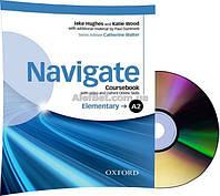 Английский язык / Navigate / Coursebook+DVD+Online. Учебник с диском,A2 Elementary / Oxford