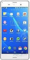 Дисплей (экран) для телефона Sony Xperia Z3 D6603, Xperia Z3 Dual D6633, Xperia Z3 D6643, Xperia Z3 D6653 + Touchscreen Original White