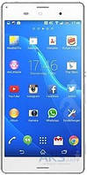 Дисплей (экран) для телефона Sony Xperia Z3 D6603, Xperia Z3 Dual D6633, Xperia Z3 D6643, Xperia Z3 D6653 + Touchscreen White