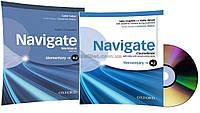 Английский язык / Navigate / Coursebook+Workbook. Учебник+Тетрадь (комплект с дисками), A2 Elementary / Oxford
