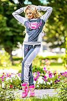 Женский спортивный костюм прогулочный  цвет: как на фото, размер: M, L, XL, XXL