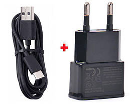 Зарядное устройство USB 2A + кабель Micro USB