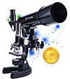 Телескоп и микроскоп набор 1200х, фото 6