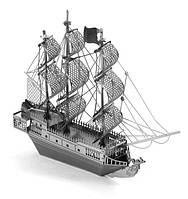 Конструктор  металлический  Корабль Черная Жемчужина из фильма Пираты Карибского Моря