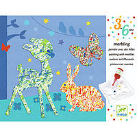 Набор для творчества Djeco пальчиковые краски Парад цветов DJ09686