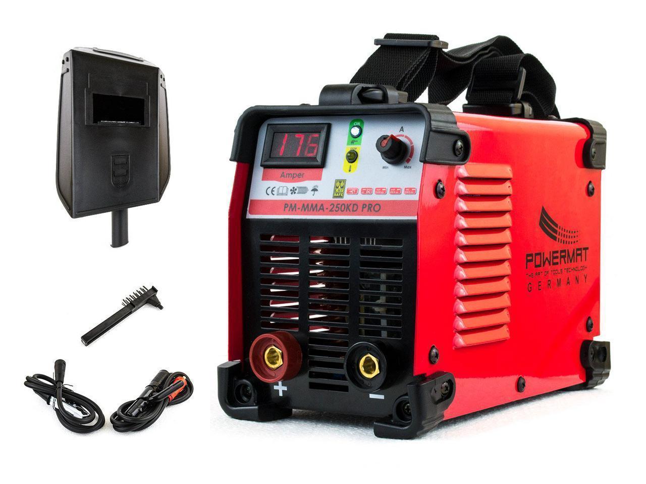Сварочный аппарат POWERMAT PM-MMA-250KD PRO
