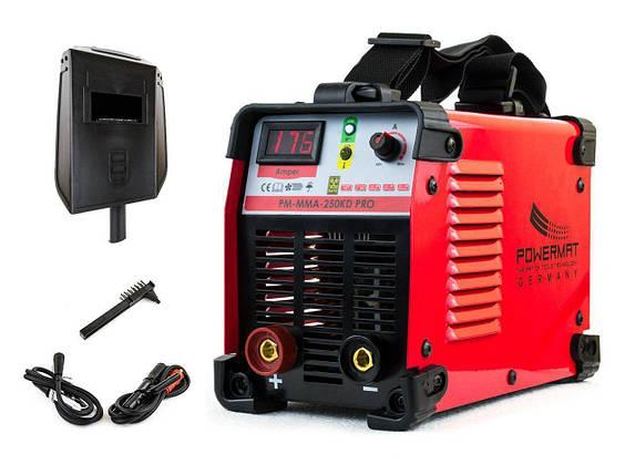 Сварочный аппарат POWERMAT PM-MMA-250KD PRO, фото 2