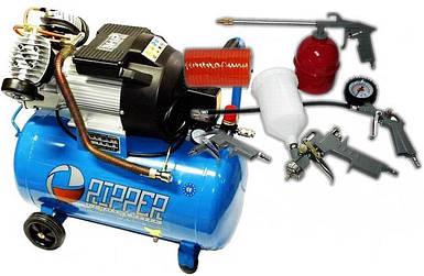 Воздушный компрессор RIPPER 50L