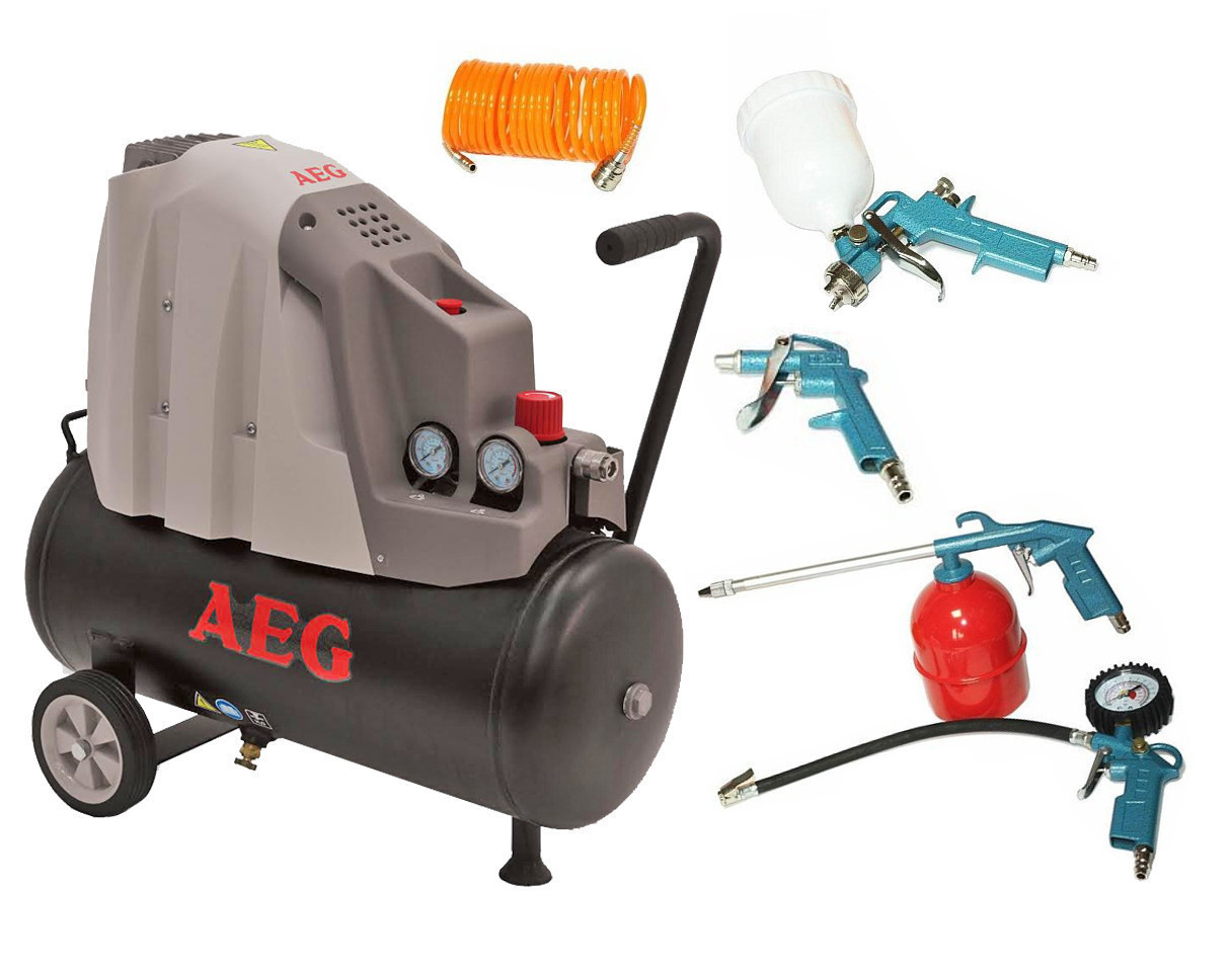 Воздушный компрессор AEG L24-2