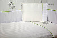 "Сменная постель Veres ""Cute Panda white"" 3 единицы"