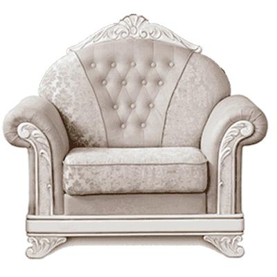 Кресло Танго ( белое дерево) Мебус