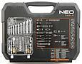 Набор ключей NEO 08-672 82 шт + 12 шт ключей, фото 3