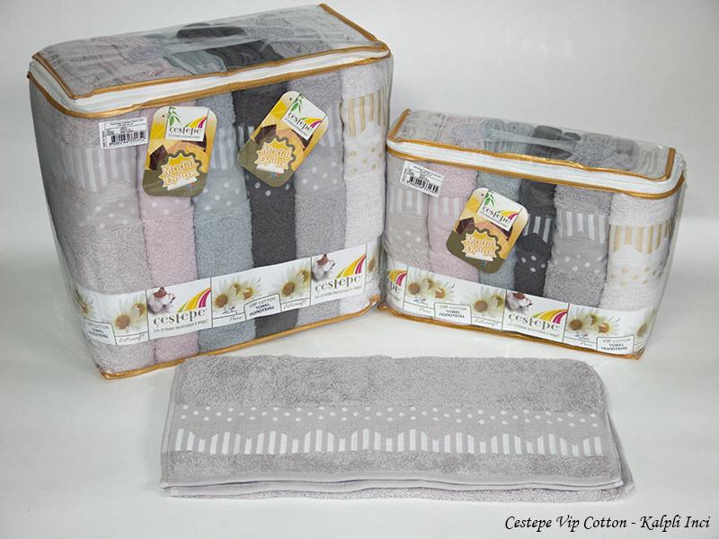 Набор полотенец Cestepe. Vip Cotton Kalpli Inci 50х90 6шт