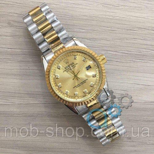 1424ce050578 Наручные часы Rolex Date Just New Silver-Gold-Gold - купить по ...