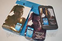 Чоловічий міні-парфуми в стильному чохлі Versace Eau Fraishe Man 50ml