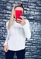Женский модный свитер-коса (7 цветов), фото 1