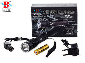 Фонарь BAILONG LED CREE ZOOM XM-L3-U3, фото 2
