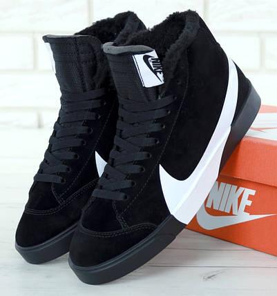 5d47a1dd Зимние мужские кроссовки Nike Blazer Mid Winter с мехом: купить в ...