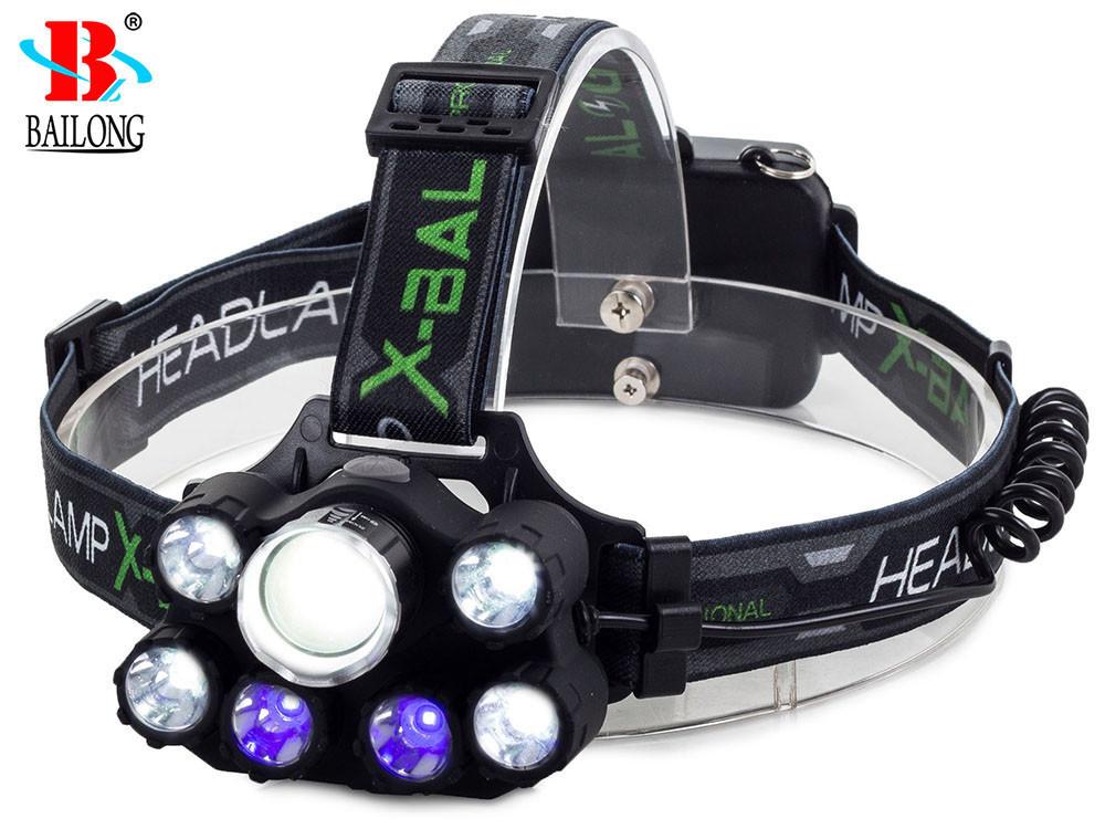 Фонарь BAILONG 7X LED UV CREE XM-L3-U3