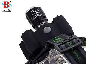 Фонарь BAILONG 7X LED UV CREE XM-L3-U3, фото 2