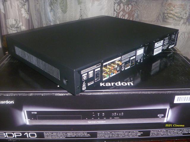 Blu-ray Player Harman/Kardon BDP 10 Hi-Fi проигрыватель BD дисков
