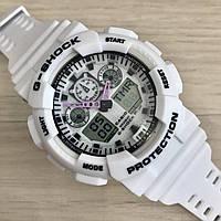 Наручные часы Casio G-Shock GA-100 White New