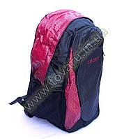 Оптом рюкзак спортивный - 8645 - Черно-красный