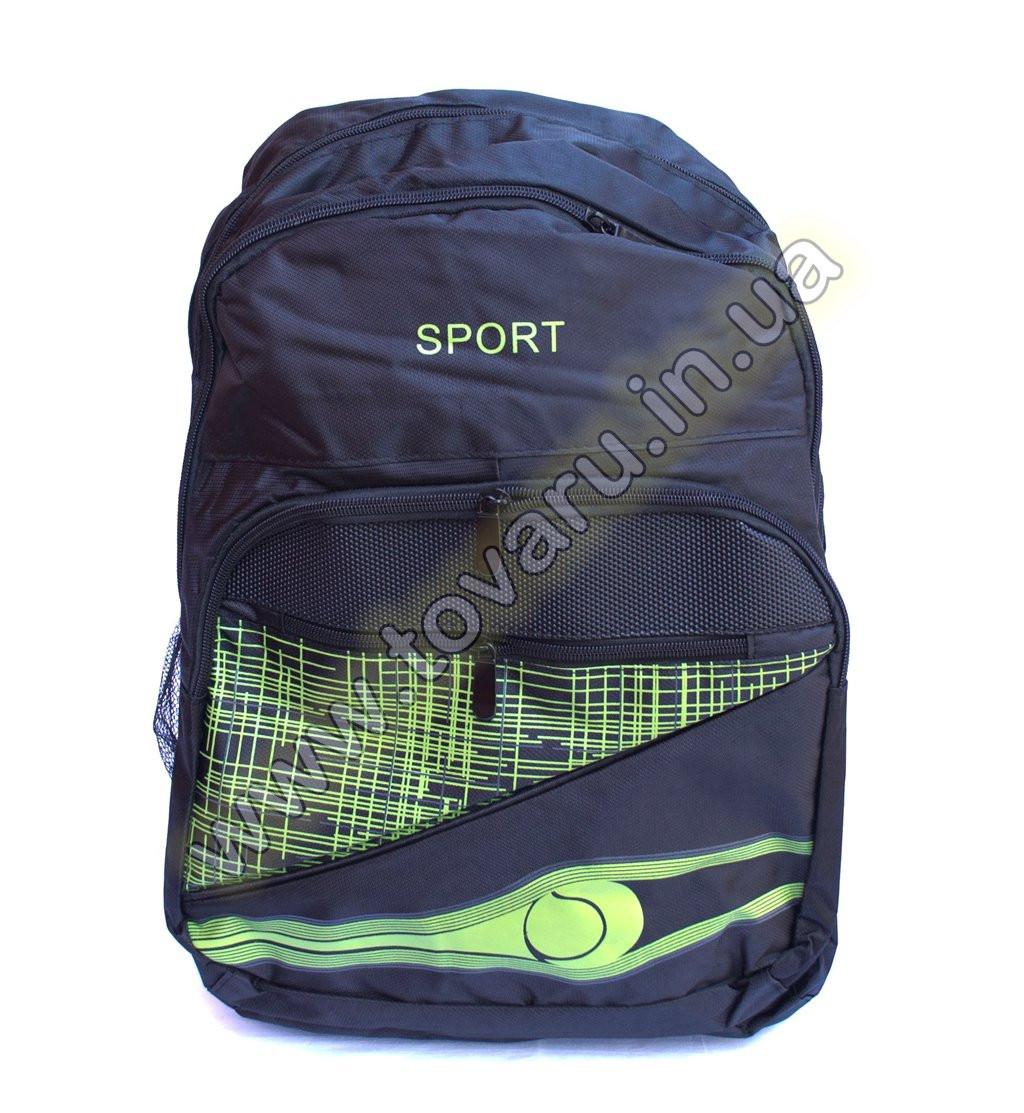 Оптом рюкзак спортивный - 8998 - Черно-салатовый