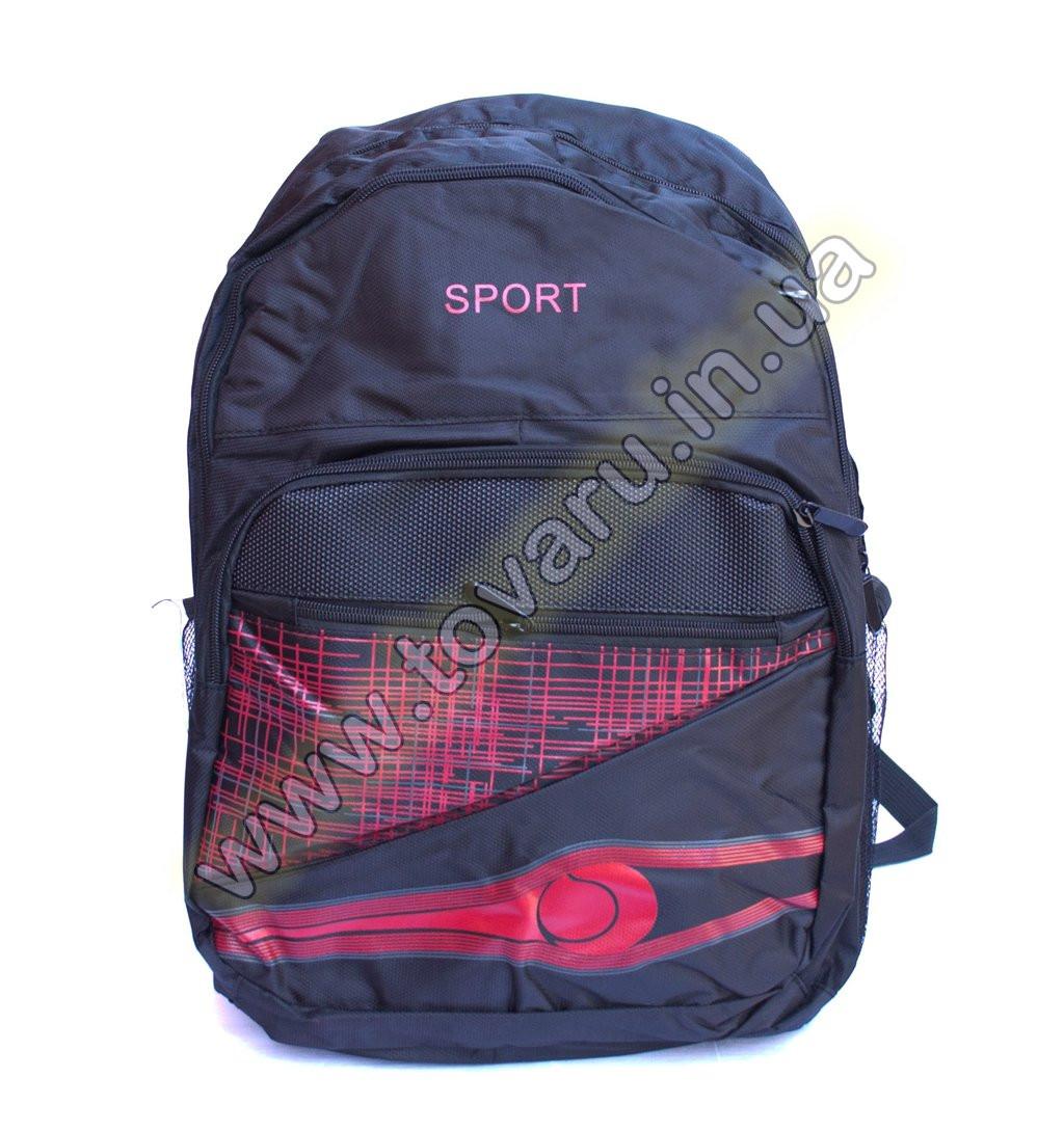 Оптом рюкзак спортивный - 8998 - Черно-красный