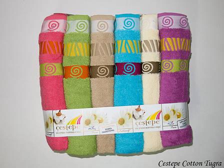 Набір рушників Cestepe Vip Cotton Tugra 50х90 6шт, фото 2