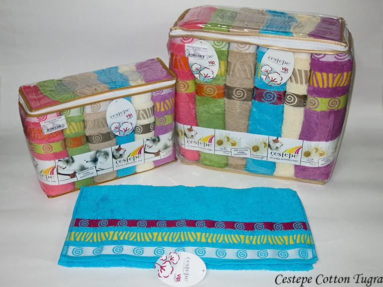 Набір рушників Cestepe Vip Cotton Tugra 50х90 6шт