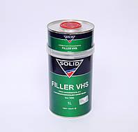 Грунт-наполнитель Solid Filler VHS серый 1л+отвердитель 0,25л