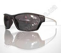 Оптом Очки мужские солнцезащитные спортивные - Черно-белые - 2035, фото 1