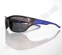 Оптом Очки мужские солнцезащитные спортивные - Черно-синие - 2036, фото 1