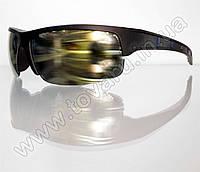 Оптом Очки мужские солнцезащитные спортивные - Черно-синие - 9890